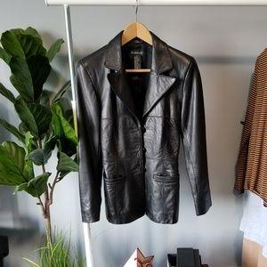 BEBE Genuine Leather Jacket size XS